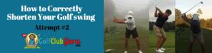 compact golf swing