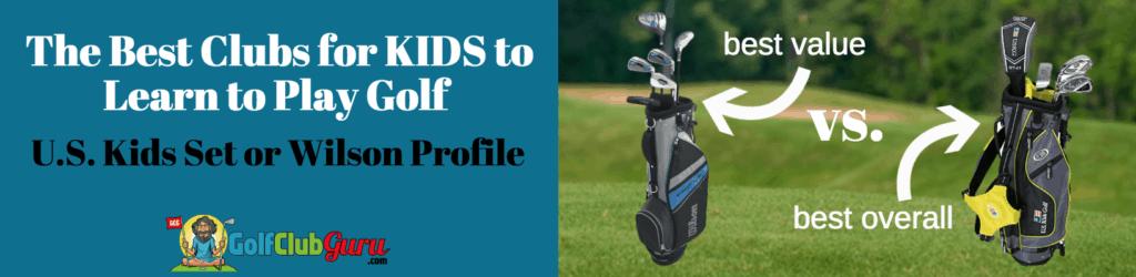 best golf clubs for kids girls boys juniors