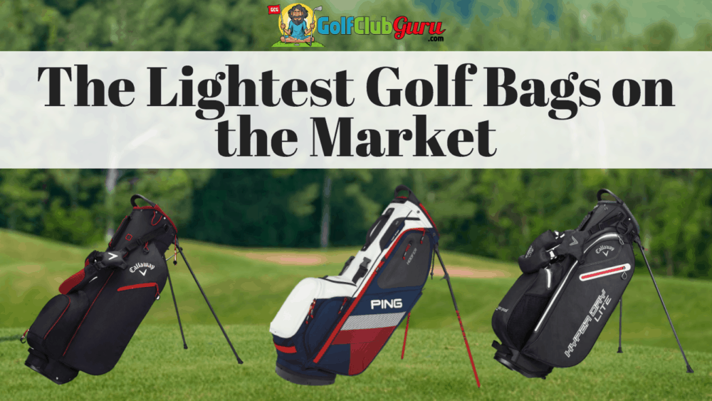 lightest golf bags light weight under 3 4 5