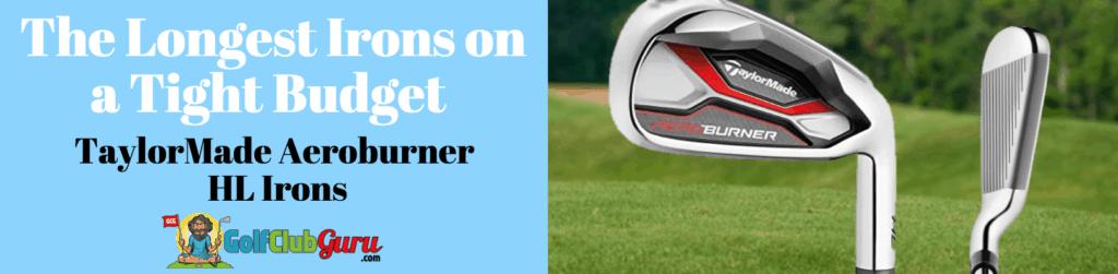 long irons distance golf