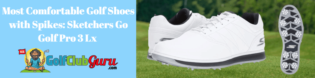 most comfort spiked golf shoes with spikes