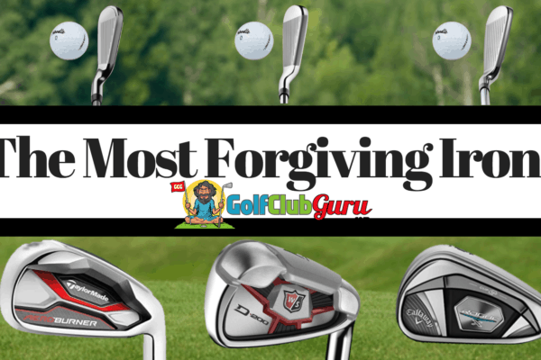 the most forgiving irons