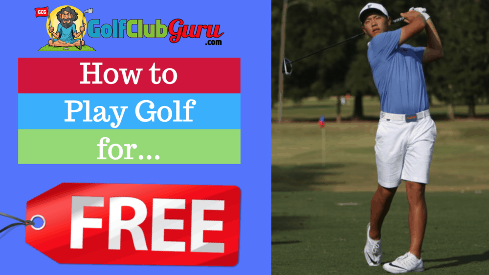 play free golf balls clubs rounds