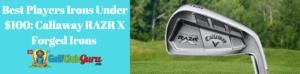 razr x fit best budget irons under 100 players