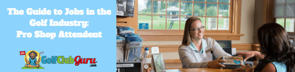 pro shop golf worker attendent