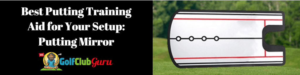 best golf putting mirror
