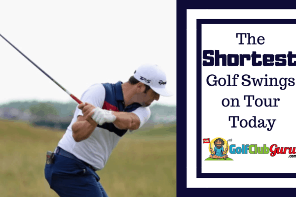 shortest golf backswing swing tour