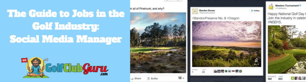 golf social media accounts