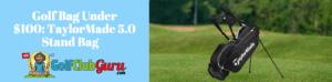 golf stand bag lightweight under 100