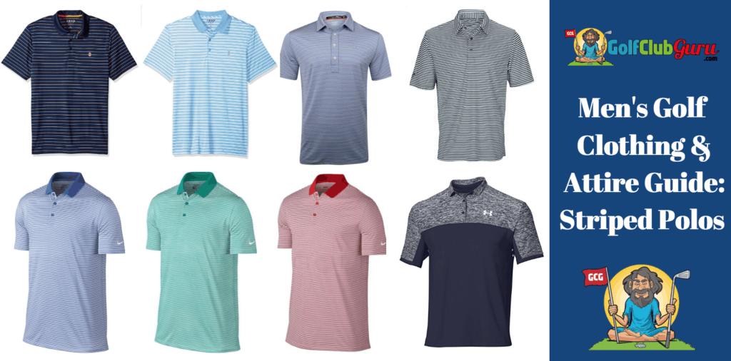 golf shirts polos cool mens