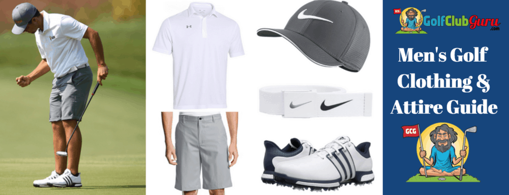 golf hot weather clothes