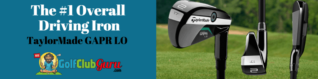 taylormade gapr lo driving iron review