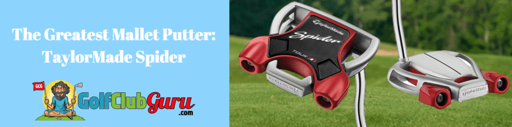 spider taylormade putter mallet