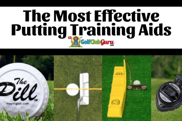 best putting training aids putts