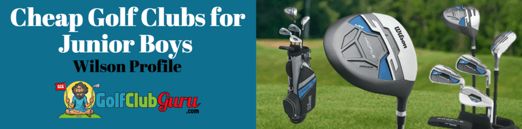 cheap wilson junior golf clubs