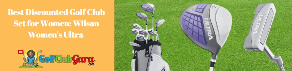 women's strata complete set golf club