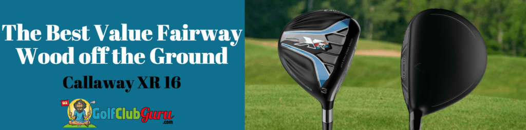 callaway xr 16 fairway wood 3