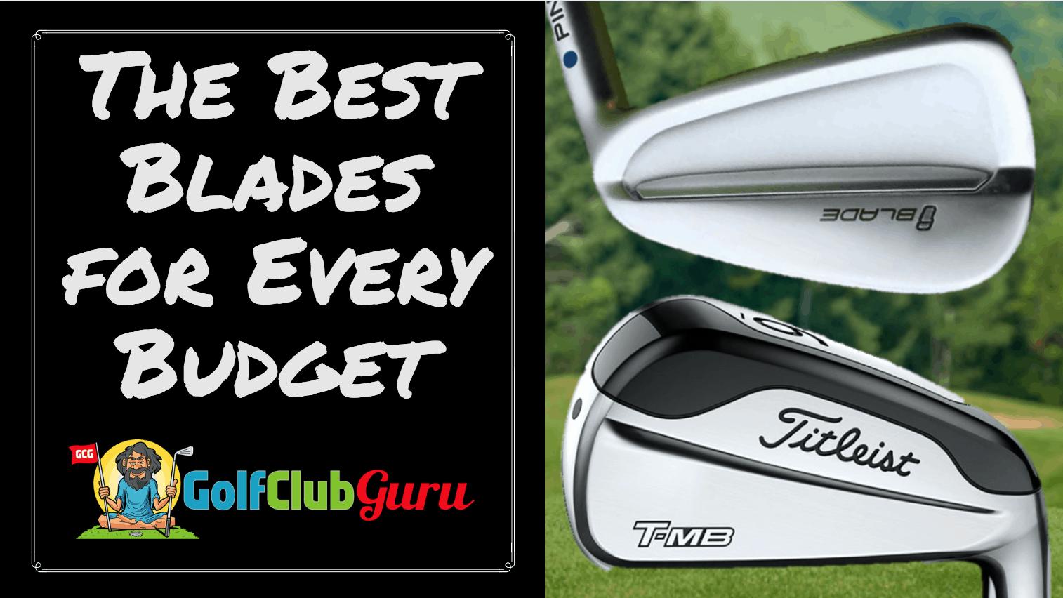 The Best Blade Iron Sets For Every Budget 2018 Golf Club Guru