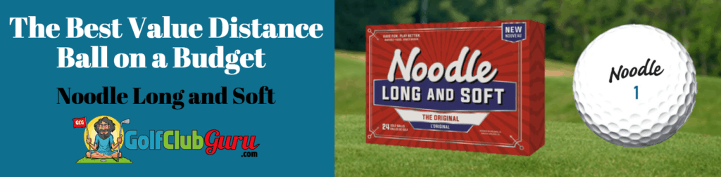 best budget golf ball distance