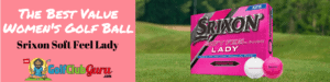 best value women golf ball srixon lady feel