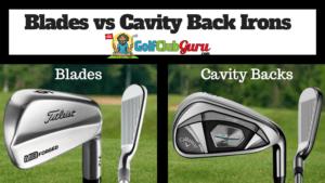 blades or cavity back irons handicap