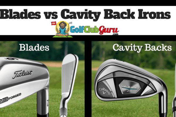 blades or cavity back irons handicap