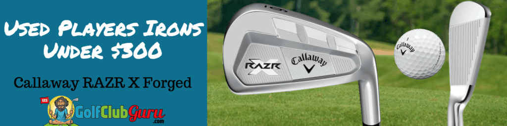 callaway razr x forged irons review