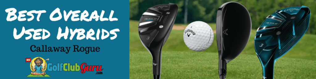 callaway rogue hybrid used