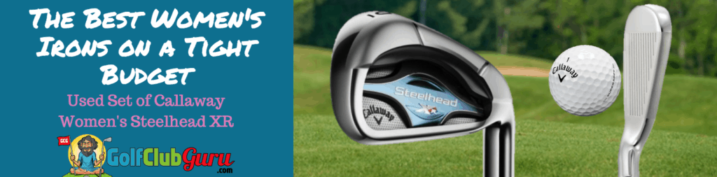 callaway steelhead xr irons for women ladies