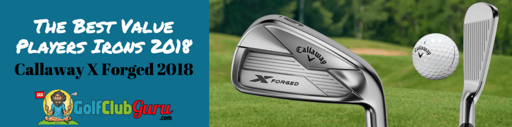 callaway x forged irons review 2018 player