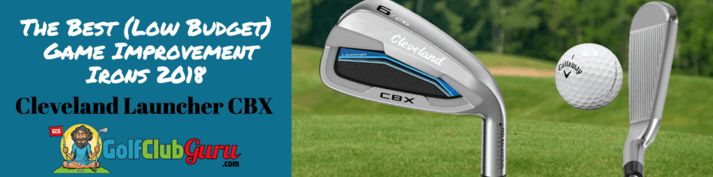cleveland launcher game improvement irons budget value cbx review