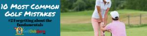 golf fundamentals simple baisc