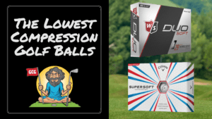 best low compression golf balls slower swing speeds