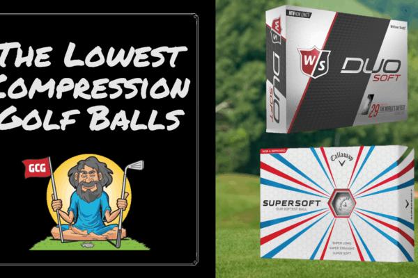 best low compression golf balls slower swing speeds