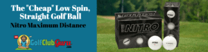 nitro maximum distance review golf ball