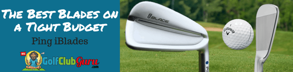 ping iblades review irons