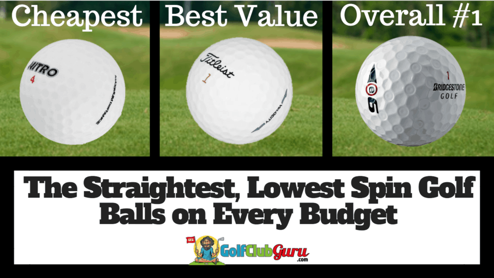 straightest low spin golf ball review