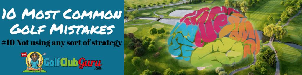 golf strategy par 4 5