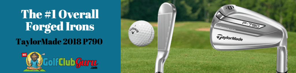 taylormade 2018 p790 irons forged