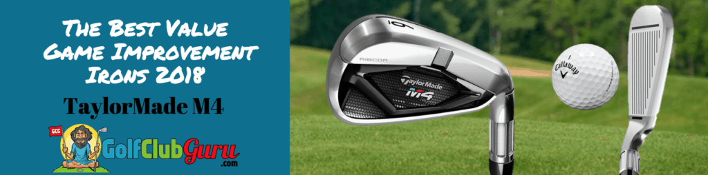 taylormade m4 iron set game improvement review