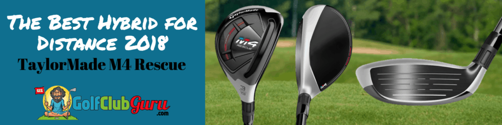 longest hybrid taylormade m4 rescue