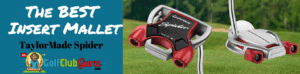 taylormade spider putter tour