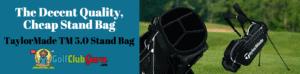 stand bag under $100 cheap