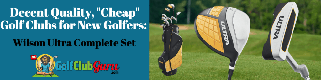 the best golf clubs for beginners