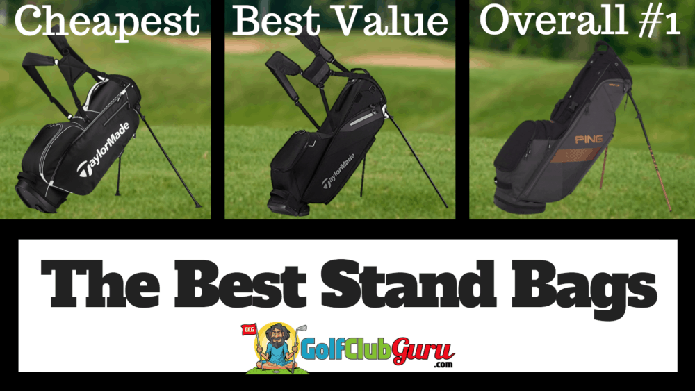 the best golf stand bags