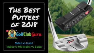 the best putters milled insert mallet blade