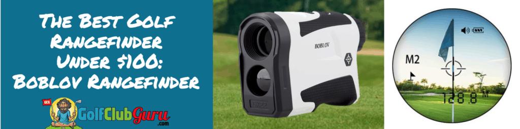 boblov the best rangefinder golf under 100