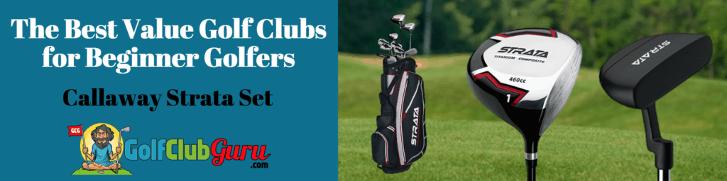 the best value golf clubs