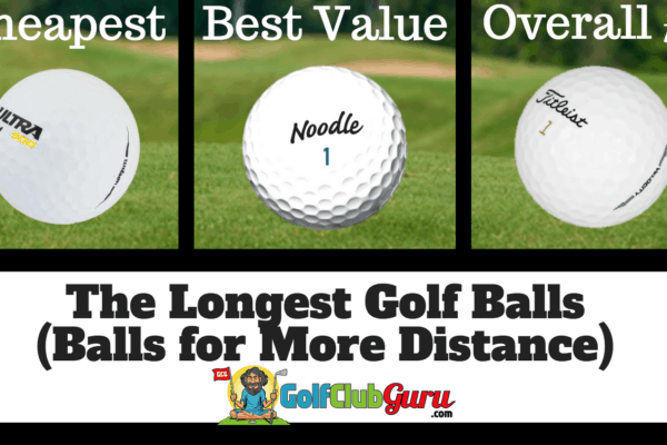 the longest golf ball for more distance