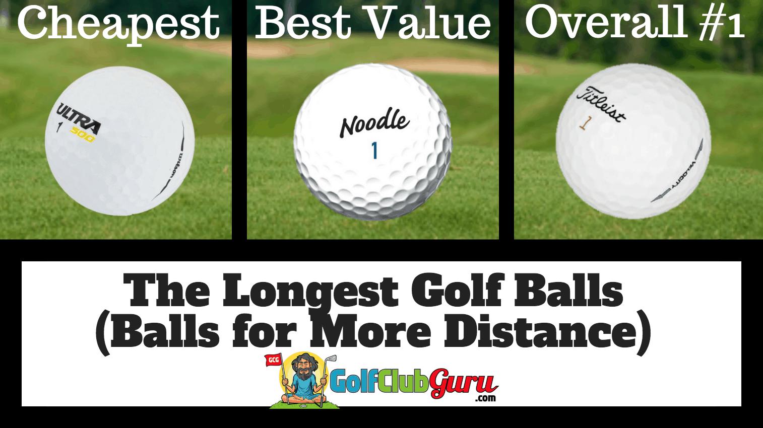 The Longest Golf Balls Best For Distance Golf Club Guru